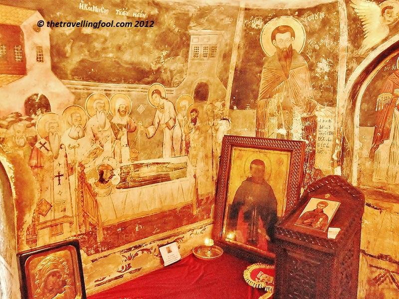 St Naum Burial