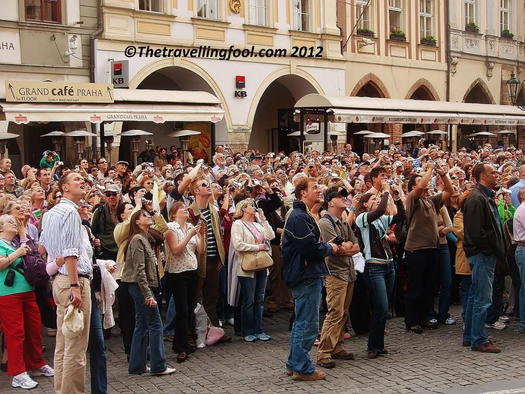 Prague Crowd
