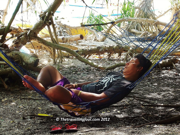hammock-beach-Bohol-Panglao Island-Philippines
