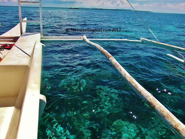 Boat-clear water-Bohol-Philippines