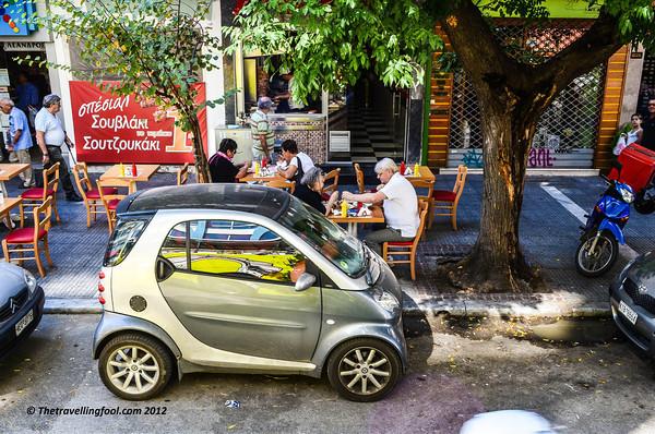 small-smart car