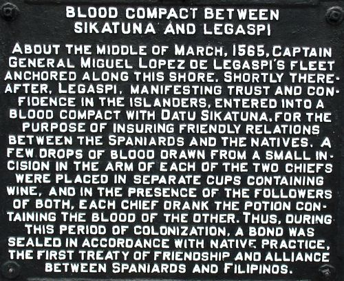 Blood Compact-Marker-Bohol-Philippines