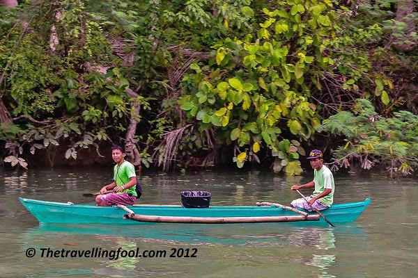 River-Canoe-Philippines-Asia