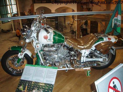 Pislner Urquell Motorcycle-Pilnser-Pilzn-Czech Republic-Beer