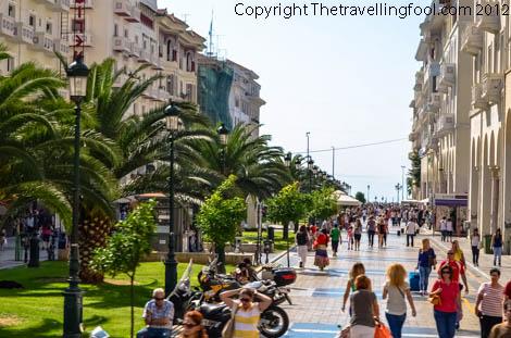 Promenade-Thessaloniki-Greece