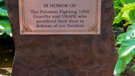 Palawan Special Battalion Memorial Plaque