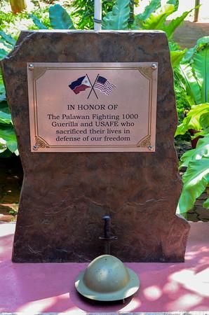 Palawan Special Battalion museum memorial