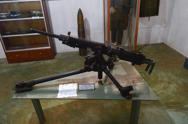 Japanese heavy machine gun