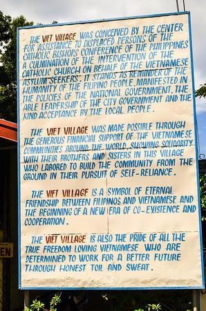 Viet Ville Sign