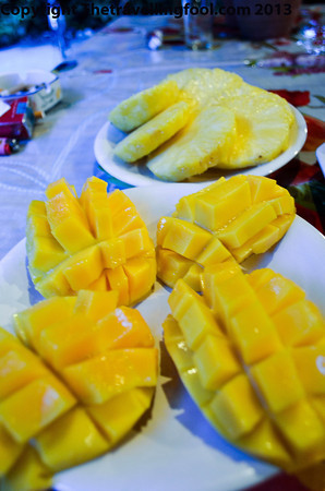 Pineapples and Mangoes