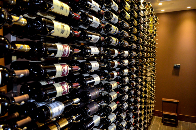 Robards Steakhouse Wine Cellar