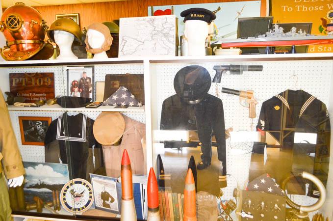 Navy memorabilia