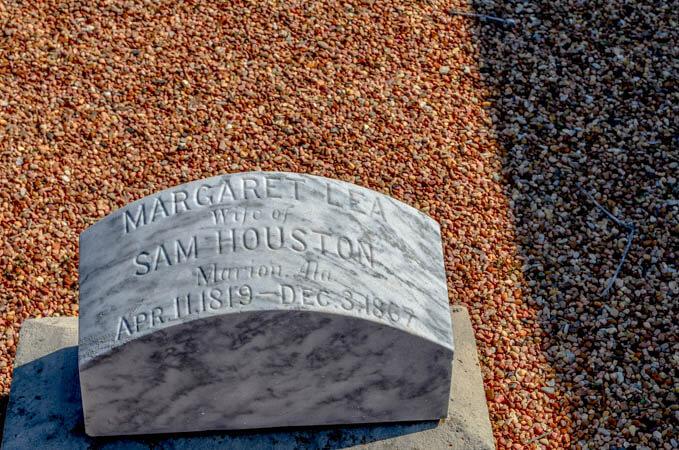 Lea Houston Grave