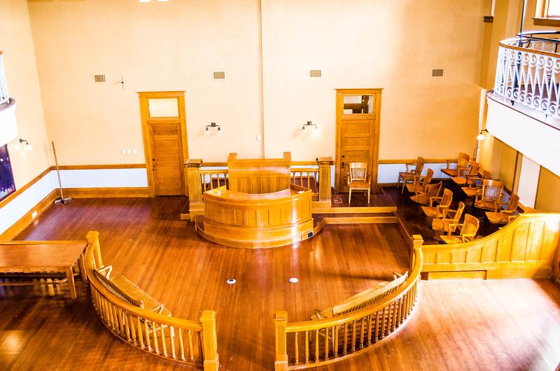 Klan Trial Courtroom