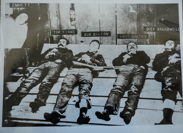 The Dalton Gang Laid Out
