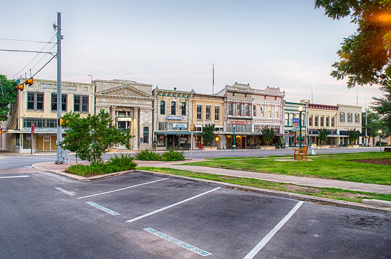 Town Square, Georgetown Texas