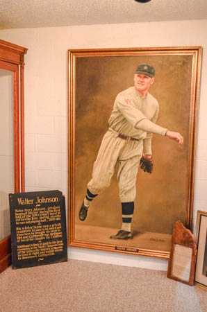 Walter Johnson Hall of Fame