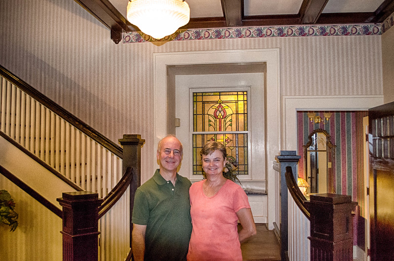San Gabriel House owners