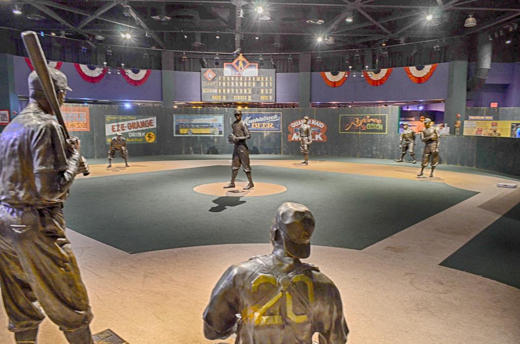 Negro Leagues Broze Statues