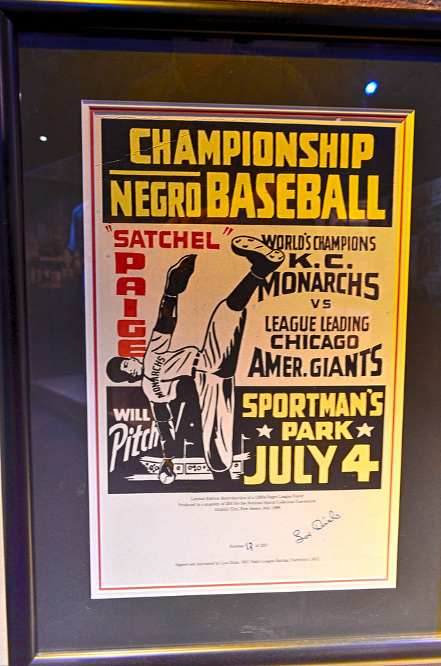 Satchel Paige Baseball Poster