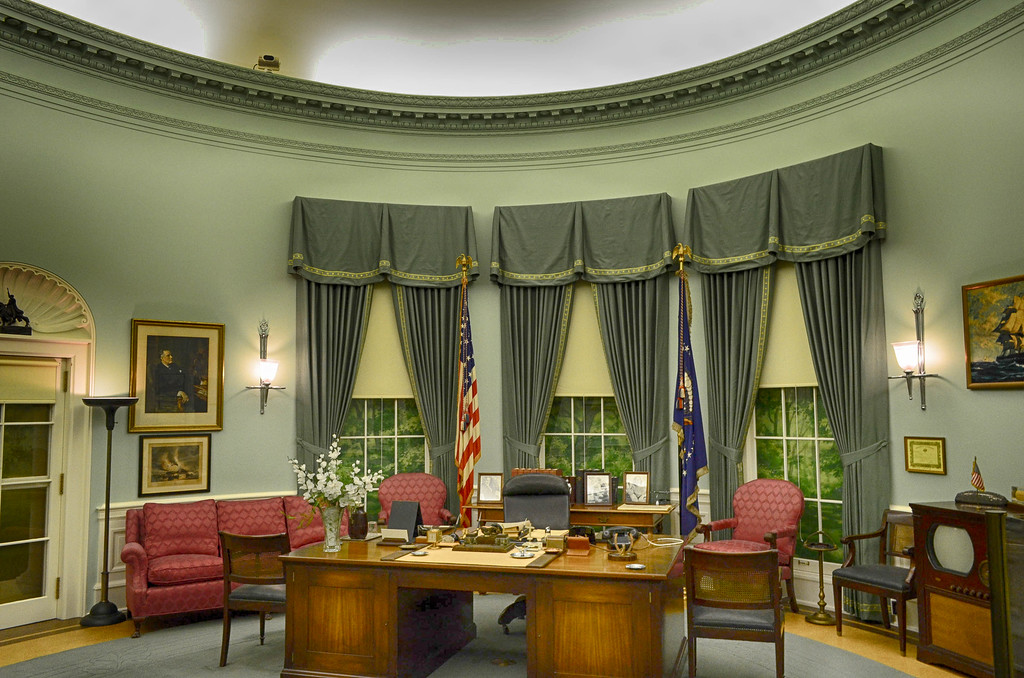 President Truman Oval Office