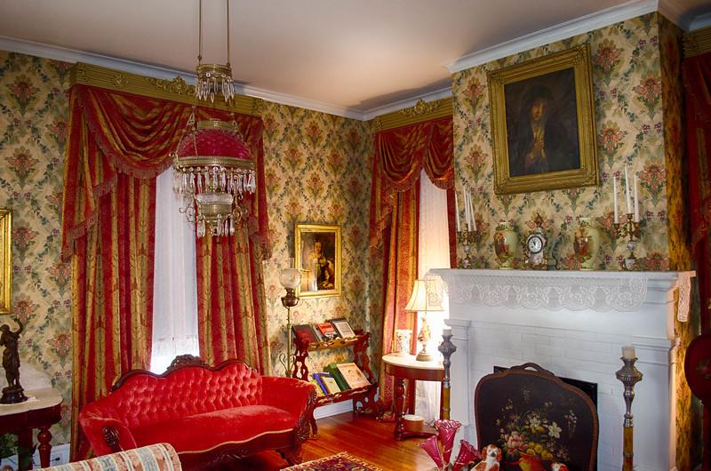 Interior of the Davis House, Shreveport Louisiana