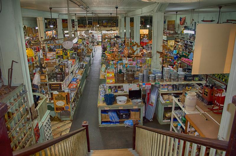 Inside Kaffie Frederick Mercantile Natchitoches Louisiana