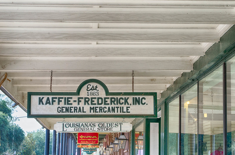 Kaffie-Frederick General Mercantile Natchitoches Louisiana