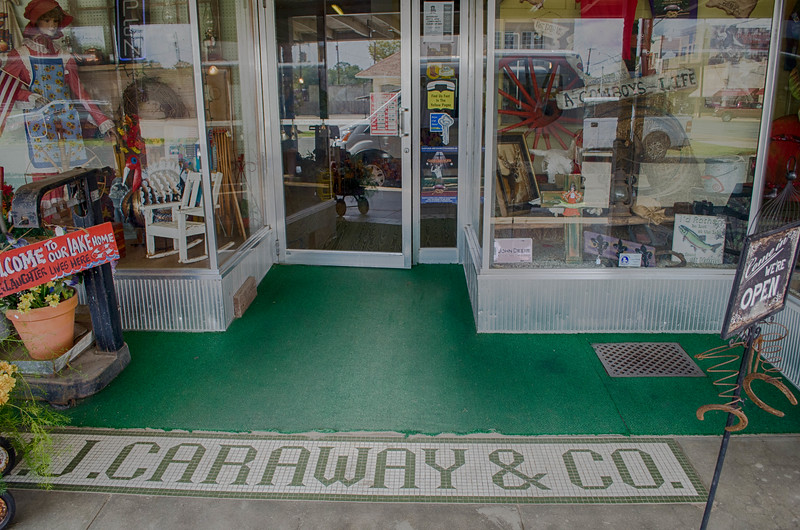 NJ Caraway Store Logansport Louisiana