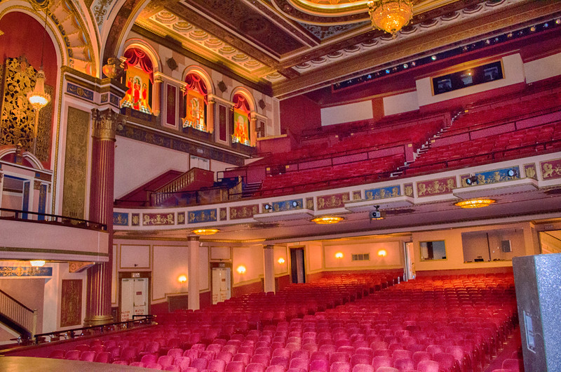 Interior of The Strand Theater Shreveport Louisiana
