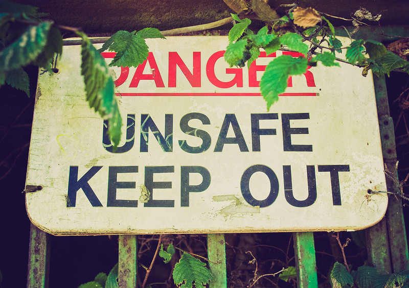 Dangerous Keep Out